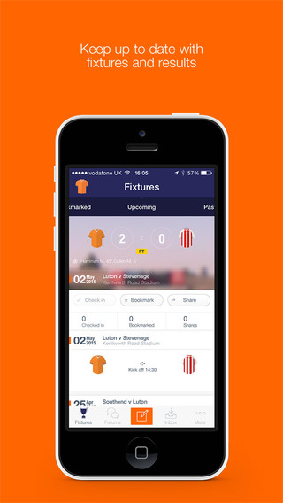 Fan App for Luton Town FC
