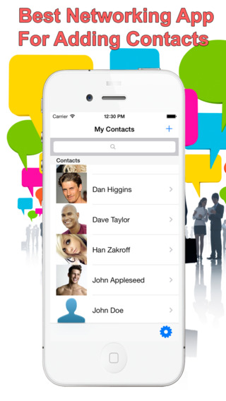 Photo Contacts + Group Contacts Smart Address book plus