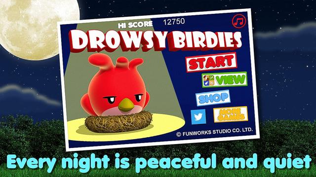 Drowsy Birdies - My Goggle Sleepy Wings