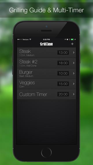 GrillTime - 烧烤计时器[iOS]丨反斗限免