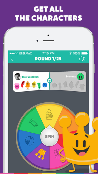 Trivia Crack iPhone app