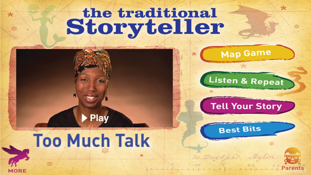 The Traditional Storyteller - Too Much Talk