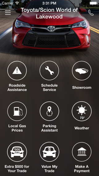 Toyota Scion World of Lakewood DealerApp