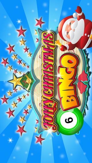 Jolly Christmas Bingo by Santa - Merry Good Time With Multiple Daubs