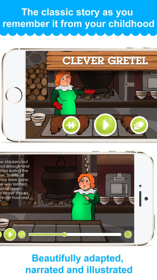 Clever Gretel - Narrated classic fairy tales and stories for children