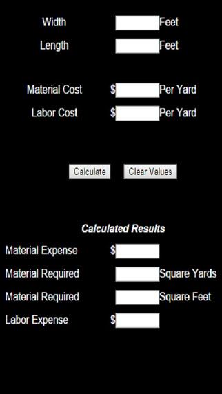 Carpet Calculator Pro