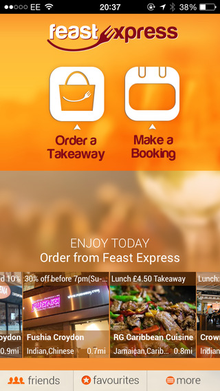 Feast Express - Order Takeaway Book a Table