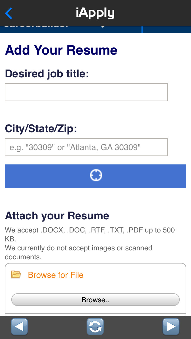 app shopper iapply the official jobseekers app utilities