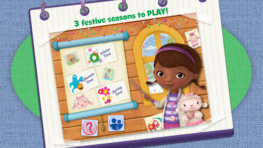 Doc McStuffins Color and Play