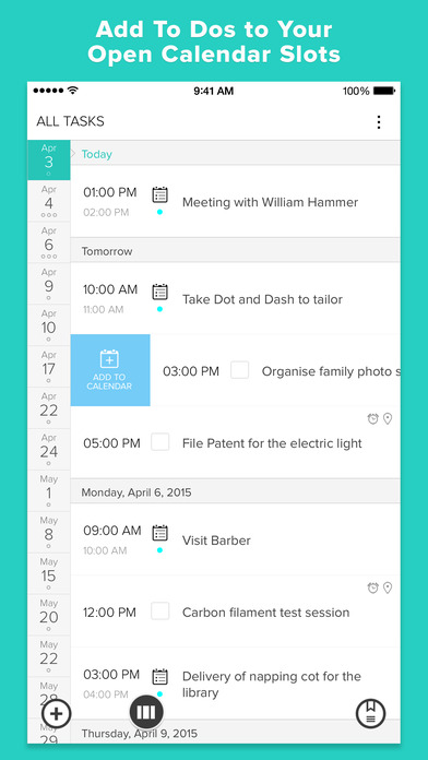 Gneo:  To Do Task List and Calendar Manager Screenshots