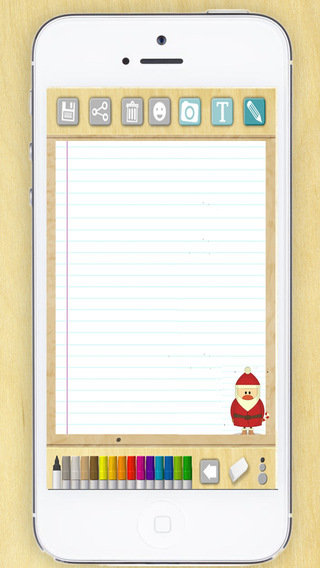 Create the letter to Santa Claus Santa Claus - Premium