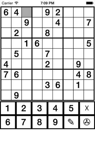 Aaron Sudoku Pro screenshot 1