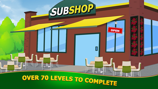Food Court Fever : Cafeteria Lunch Time Submarine Sandwich Restaurant Chain PRO