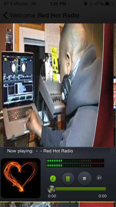 Reggae Spin Radio iPhone Screenshot 4