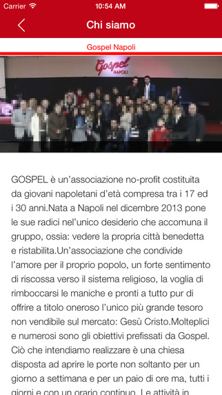 Gospel Page