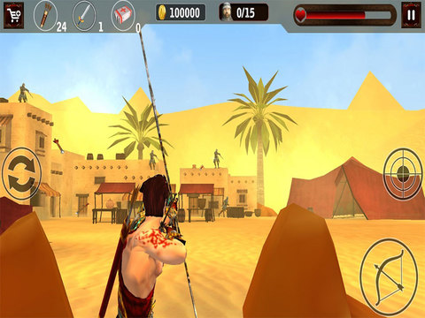Clash of Egyptian Archers screenshot 1