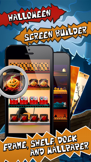 Halloween Screen Builder PRO - Compatible with iOS 8 iPhone 6 and iPhone 6+