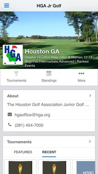 Houston Golf Association Junior Golf