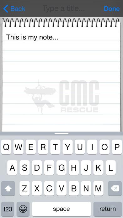 Rescue Field Guide iPhone Screenshot 3