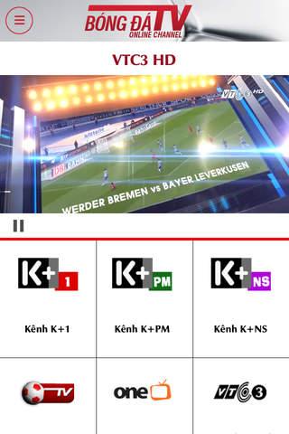 Kênh Bóng Đá - Phát bóng đá K+ screenshot 1