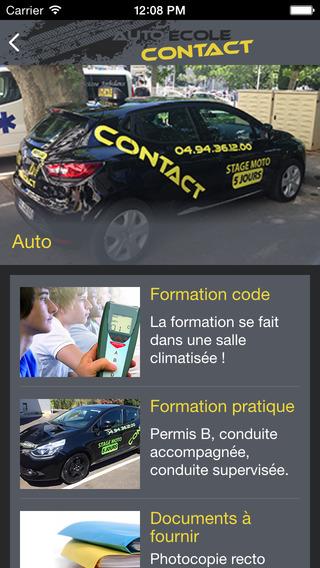 玩免費教育APP|下載Auto Ecole Contact app不用錢|硬是要APP