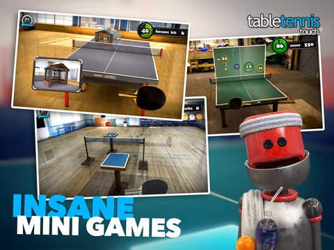 Table Tennis Touch Screenshots