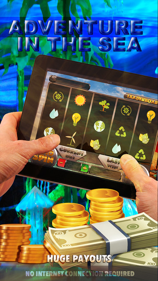 Adventure In The Sea Slots - FREE Casino Machine For Test Your Lucky Win Bonus Coins In This Fabulou