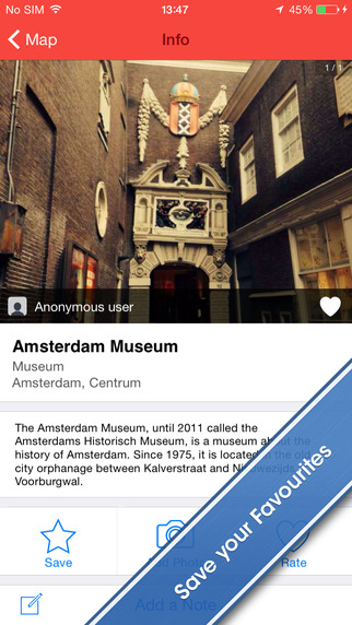 Amsterdam Travel Guide and Offline City Map
