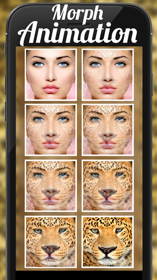 Animal Face Animation - Funny Movie Maker With Blend Morph Transform Effect