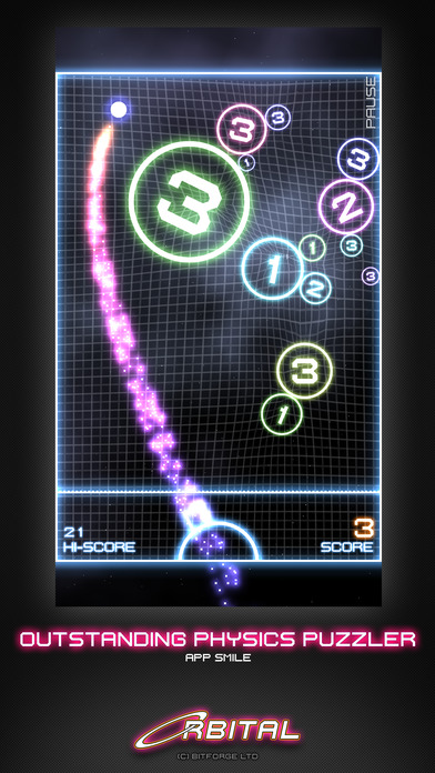 ORBITAL iPhone Screenshot 1