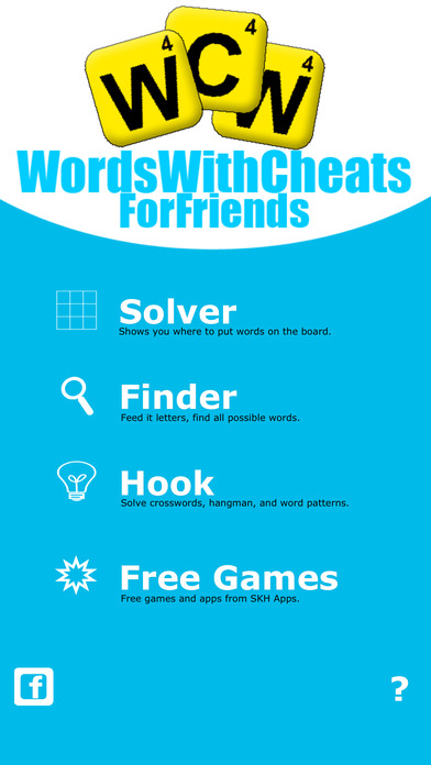 Words With Cheats for Friends ~ The Best Word Finder For Games You Play With Words And Friends iPhone Screenshot 1