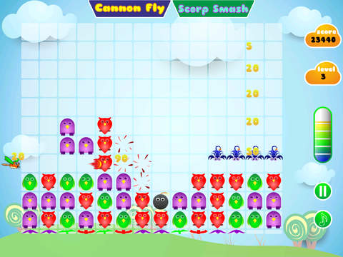 Blobz HD Free - A Bubble breaker ,Bubble burst with explode of fun and popping addiction iPad Screenshot 1