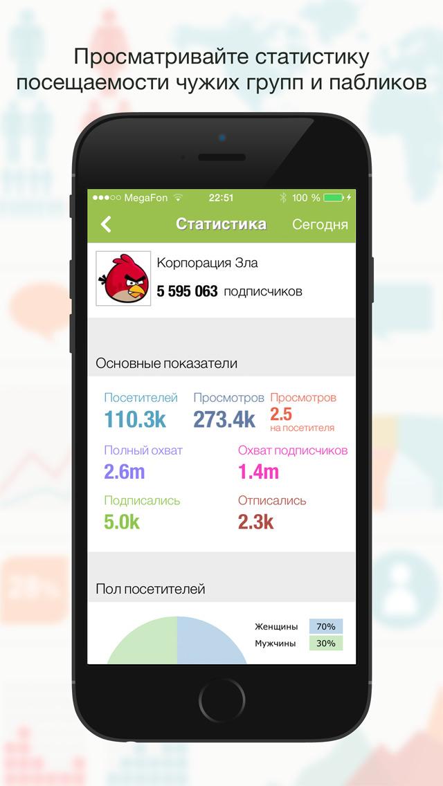 ВК.Метрика Скриншоты7