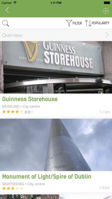 Dublin Guide - mTrip iPhone Screenshot 5