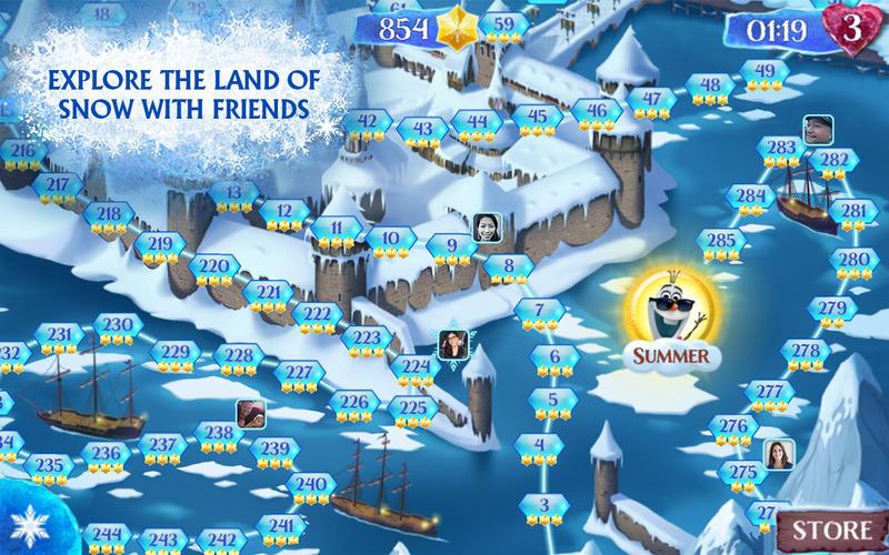 Frozen Free Fall Screenshot - 4