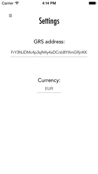 GRS Balance