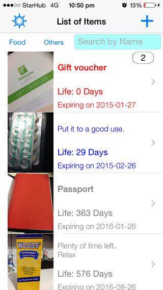 Expiry Date Tracker Lite