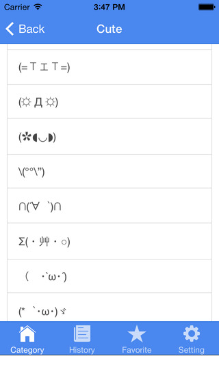 Kaomojis Japanese Emoticons