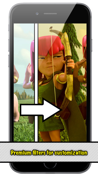 Customizable Wallpapers for Clash of Clans HD Free