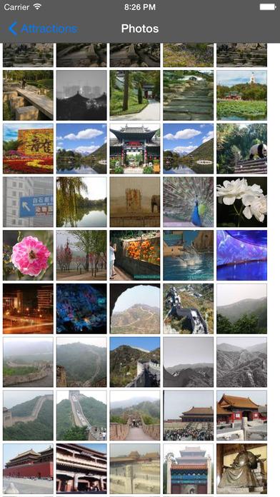 Beijing Travel Guide Offline iPhone Screenshot 2