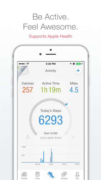 Pacer - Pedometer plus Weight and BMI Management and Blood Pressure Tracker