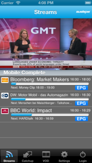 Blankom - Mobile TV