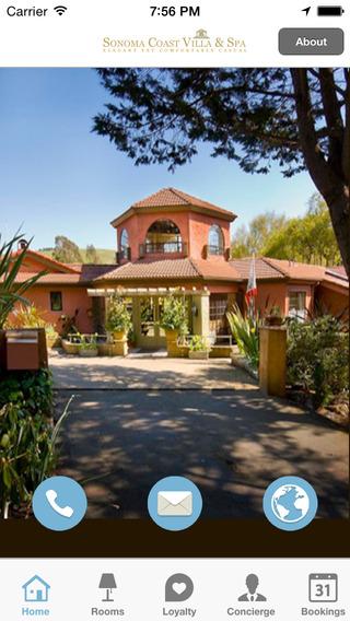 Sonoma Coast Villa Spa