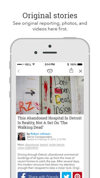 Screenshots for Pixable - Trending Stories