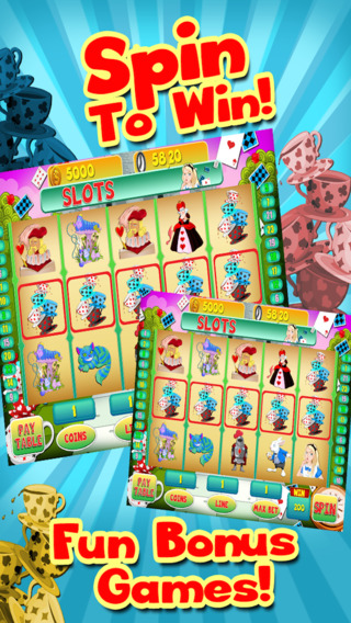 玩免費遊戲APP|下載Alice Vegas Slots Casino - Wonderland Jackpot Journey Slot Machine Games Free app不用錢|硬是要APP