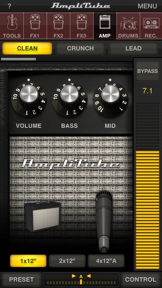 AmpliTube - 专业调音器[iOS]丨反斗限免