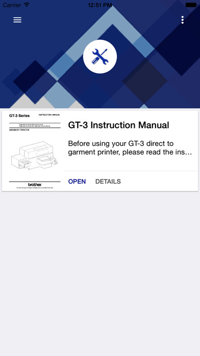 Brother GT-3 Series screenshot