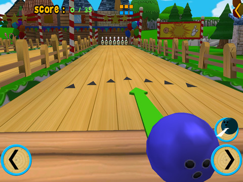 jungle animals bowling for kids vip iPad Screenshot 2