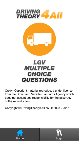 UK LGV Driving Theory Test - Practice Questions