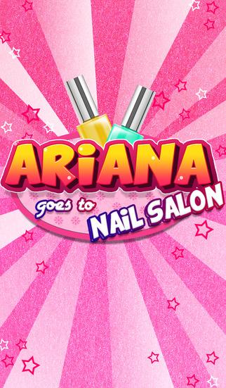 Ariana goes to the Nail Salon